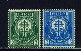 IRELAND  -  1933 Holy Year Set Mounted/Hinged Mint - Nuovi