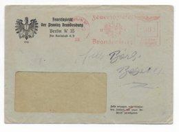 REICH - 1943 - EMA (FEUERSOZIETÄT BRANDENBURG) Sur ENVELOPPE De BERLIN - Marcofilia - EMA ( Maquina De Huellas A Franquear)