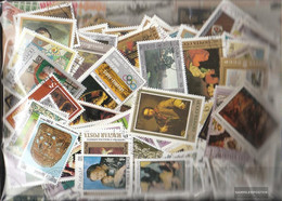 Motives Stamps-4.000 Different Paintings Stamps - Art