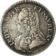 Monnaie, France, Louis XV, 1/5 Écu Aux Branches D'olivier, 24 Sols, 1/5 ECU - 987-1789 Royal