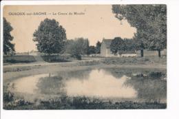 Carte D' OUROUX SUR SAONE Le Creux Du Moulin   ( Recto Verso ) - France