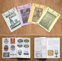 """Rare """"Les Amis Du Verre à Bière Et Des Brasseries Anciennes """" N°5-8, 1986 - Brocantes & Collections"""