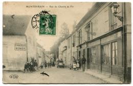MONTEVRAIN Rue Du Chemin De Fer - France
