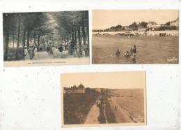 Cp, 17 ,CHATELAILLON Et CHATELAILLON-PLAGE , 3 Scans , LOT DE 9 CARTES POSTALES - Cartes Postales