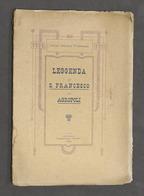 N. Forenza - Leggenda Di S. Francesco In Agropoli - 1^ Ed. 1926 - Libri, Riviste, Fumetti