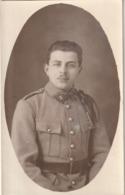 Rare Cpa Photo Soldat Du 3 E Avec Ancre Sur Fourragère Et Boutons Artillerie (peut être Le 3 ème RAMA) - 1914-18
