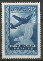 Argentina - 1951 Douglas DC4 And Condor MNH **   Sc C60 - Argentina