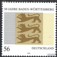 BRD (BR.Deutschland) 2248 (completa Edizione) MNH 2002 Baden-Württemberg - Nuevos