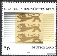 BRD (BR.Deutschland) 2248 (completa Edizione) MNH 2002 Baden-Württemberg - [7] République Fédérale
