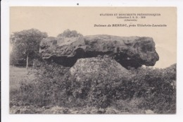 CP  16 VILLEBOIS LAVALETTE Env.  Dolmen De Bernac - Frankrijk