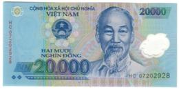 Vietnam 20000 Dong 2007 UNC .PL. - Vietnam