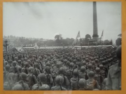 SOLDATS AMERICAINS CONCORDE LIBERATION DE PARIS GUERRE WW2 PHOTO DE PRESSE 24 X 18 Cm PHOTO PRESSE LIBERATION - Guerre, Militaire