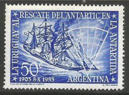 Argentina - 1953 Rescue Of The Antarctic MNH *   Sc 620 - Argentina