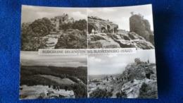 Burgruine Regenstein Bei Blankenburg Harz Germany - Blankenburg