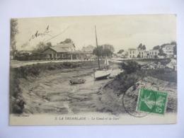 La Tremblade. Le Canal Et La Gare. - La Tremblade
