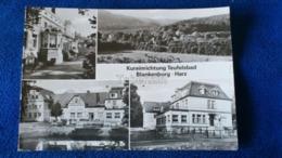 Kureinrichtung Teufelsbad Blankenburg Harz Germany - Blankenburg
