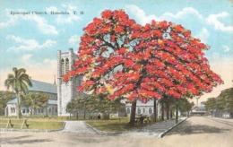 USA Hawai Honolulu Episcopal Church Eglise Episcopale - Honolulu