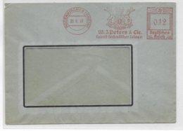 REICH - 1943 - EMA (TECHNISCHER LEINEN) Sur LETTRE De RODENKIRCHEN - Germania