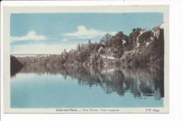 Carte De LISLE SUR TARN  Rive Droite Pont Suspendu  ( Recto Verso ) - Lisle Sur Tarn