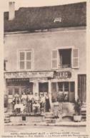 ARCY SUR CURE - BELLE CARTE - SEPIA - TRES ANIMEE DEVANT L'HOTEL-RESTAURANT BLOT - TOP !!! - Other Municipalities