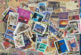 United Kingdom Channel Islands Stamps-100 Different Stamps - Great Britain