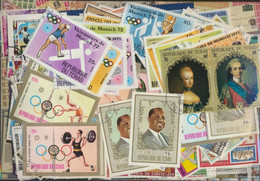 Chad Stamps-300 Different Stamps - Tsjaad (1960-...)