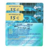 TC MOBILAND 15 € US. 01.01.2005 - Andorra