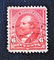 J. GARFIELD 1890 - OBLITERE - YT 115 - MI 108 - Usati