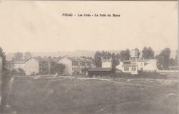 Rare Cpa Foug Les Cités La Salle De Bains - Foug