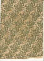Papier Marbrée . 2 Feuilles,  Feuilles De Houx ,Anciens Pour Restauration De H .28 Cm Sur L. 21 Cm ,Papier Vergé Ancien - Ohne Zuordnung