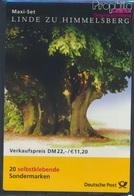 BRD MH45 (kompl.Ausg.) Postfrisch 2001 Naturdenkmäler (8910546 - BRD