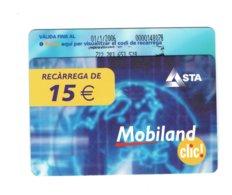TC MOBILAND 15 € US. 01-1-2006 - Andorra