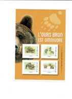 FRANCE 2019 Collector Ours Brun -poisson(saumon) - Frankreich