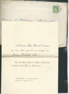 Chateau De Naintré - F.P. Mariage De Mme Rodolphe Salis Avec M Leon Russeil Le 4/04/1899   Bpho0815 - Huwelijksaankondigingen