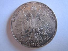 1912 AUTRICHE FRANZ JOSEF I - 2 COURONNES - ARGENT - Austria