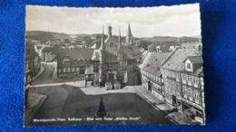 Wernigerode Harz Rathaus Blick Vom Hotel Weisser Hirsch Germany - Wernigerode