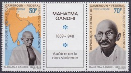 Timbres PA Neufs ** N° 122 Et 126(Yvert) Cameroun 1968 - Mahatma Gandhi - Camerun (1960-...)