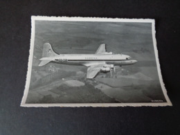 Aviation ( 156 ) Avion  Vliegtuig  : SABENA   Douglas DC - 4 Leaving Brussels For The Belgian Congo - 1946-....: Era Moderna