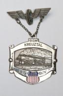 Médaille De Marche_006_BSW Kreuztal_Union Pacific Railroad_Big Boy_train - Andere