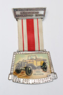 Médaille De Marche_008_1976, 4e Int. Volksmarsch Möbelstadt-Kelkheim_Automobile - Autres