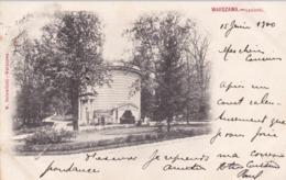 Pologne Warszawa Varsovie Lazienki éditeur W Holewinski Timbré Russie Oblitération - Poland