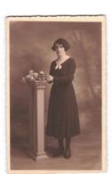 Fantaisie Femme Carte Photo 1934 Mademoiselle Madeleine Guerif De Fougeres - Femmes