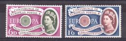 Grande-Bretagne - 1960 - N° 357 Et 358 - Neufs ** - Europa - 1952-.... (Elizabeth II)