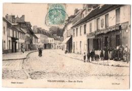 VILLEPARISIS RUE DE PARIS COMMERCES TRES ANIMEE - Villeparisis