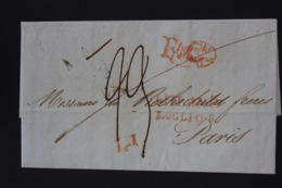 Italy Complete Franco  Letter To Rothschild Paris  Milano Luglio 1838 - Italien