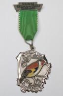 Médaille De Marche_018_1976, Wanderfreunde Hellertal, Einheimische Vogel, Chardonneret, Stieglitz - Belgique