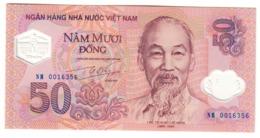 Vietnam 50 Dong 2001 Commemorative UNC .PL. - Vietnam