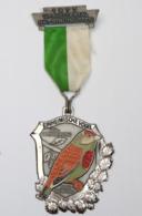 Médaille De Marche_019_1977, Wanderfreunde Hellertal, Einheimische Vogel, Bluthanfling, Linotte Mélodieuse - Other