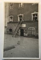 """Passau (Niederbayern) HOCHWASSER """"KÜHNE FLIESENARBEITEN"""" 1965? Ak (Bayern Innondation Real Photo Ppc C.p Deutschland - Passau"""