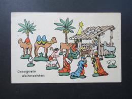 Motiv AK Künstlerkarte Weihnachten 1913 Gesegnete Weihnachten H.H.i.W. Nr. 557 Jesuskind Im Stall Hl. 3 Könige - Andere